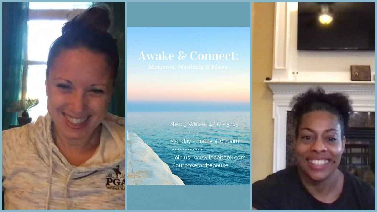 Awake & Connect: Motivate, Meditate & Move! Join us @ 6:30am to kickstart your miracle morning. You can join anytime! We...